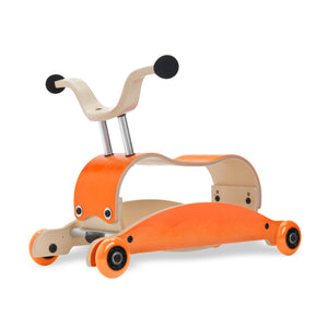 Mini Flip 4 in 1 Walker by Wishbone orange