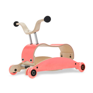 Mini Flip 4 in 1 Walker by Wishbone pink