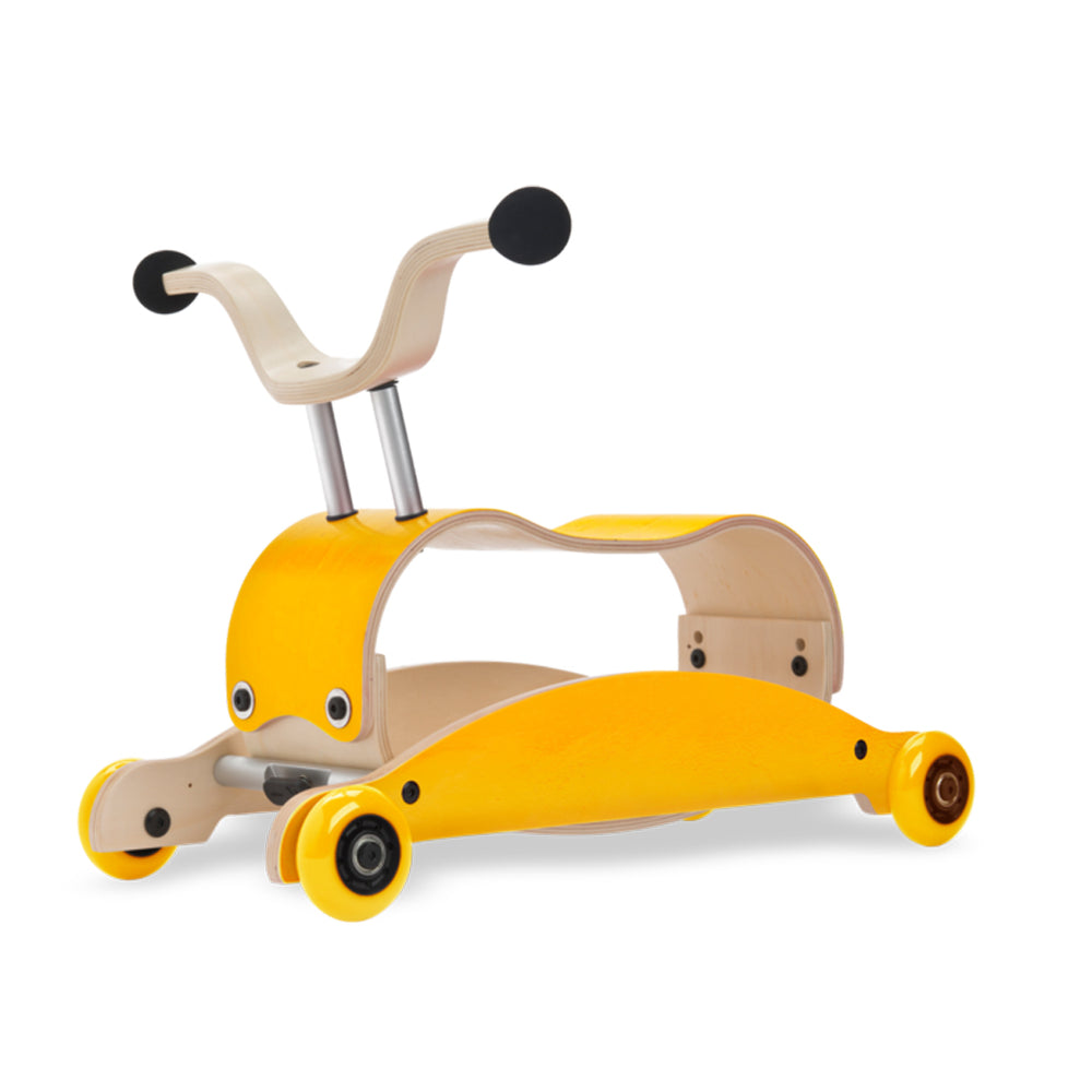 Mini Flip 4 in 1 Walker by Wishbone yellow