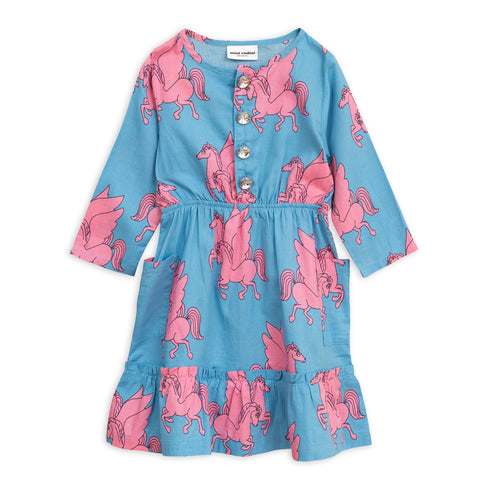 Pegasus Flounce Dress by Mini Rodini