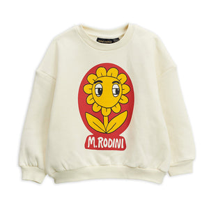 Flower Sweatshirt by Mini Rodini