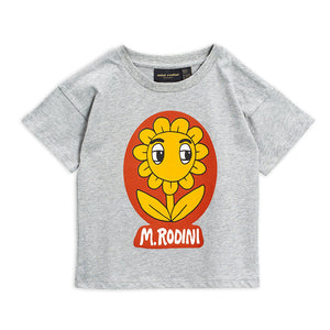 Flower Tee by Mini Rodini