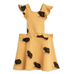 Beige Guinea Pig Dress by Mini Rodini