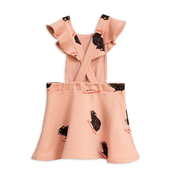Pink Guinea Pig Dress by Mini Rodini