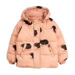 Pink Guinea Pig Puffer Jacket by Mini Rodini