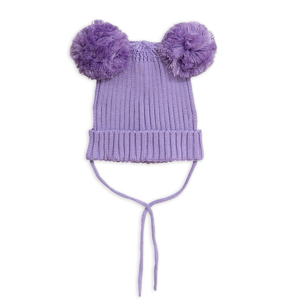 Purple Ear Hat by Mini Rodini