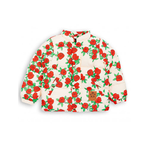 Rose Puffy Jacket by Mini Rodini