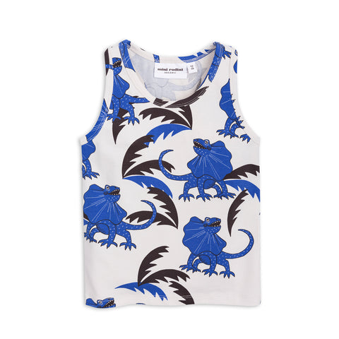 Blue Draco Tank Top by Mini Rodini