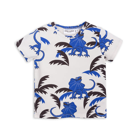 Blue Draco Tee by Mini Rodini