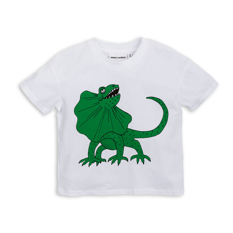 Green Draco Tee by Mini Rodini