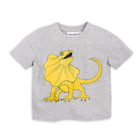 Yellow Draco Tee by Mini Rodini