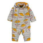 UFO Insulator Baby Overall by Mini Rodini