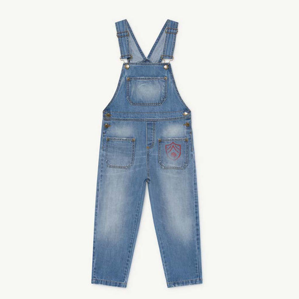 Mule Kids Denim Overalls by The Animals Observatory