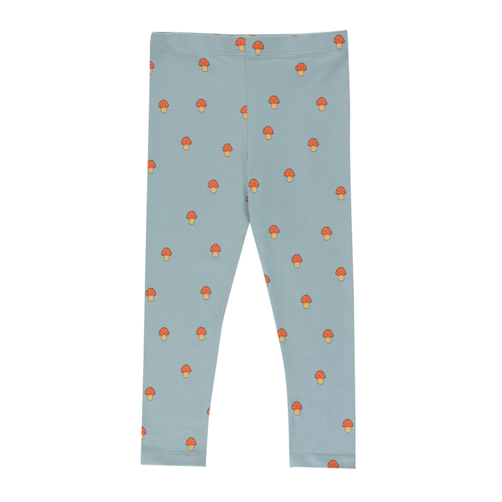 Mushrooms Print Pant by Tinycottons