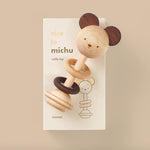 Nice to Michu Baby Rattle by Oioiooi