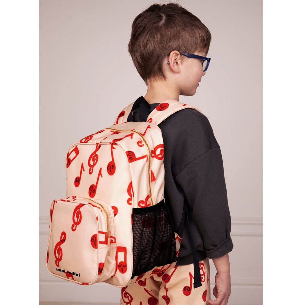 Load image into Gallery viewer, Notes School Bag by Mini Rodini