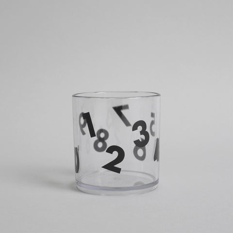 Number Tumbler Black by Buddy and Bear