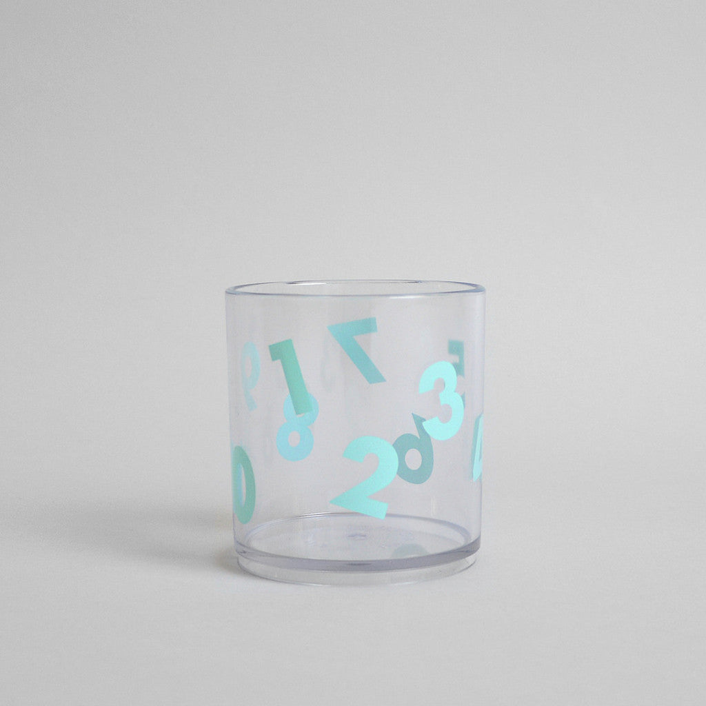 Number Tumbler Mint by Buddy and Bear