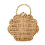 Olli Ella Shell Bag Straw