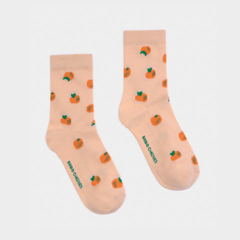 Baby & Kid Oranges Short Socks by Bobo Choses