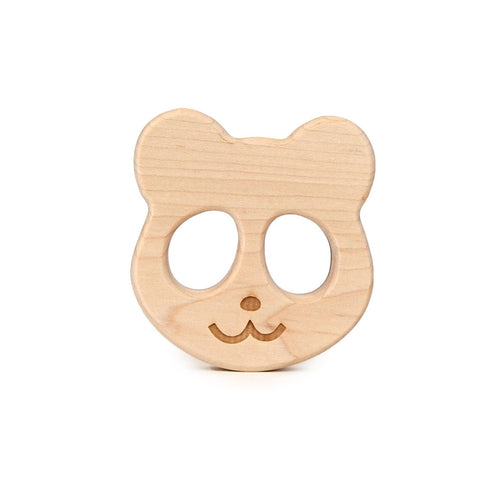 Panda Wood Teether by Little Sapling Toys