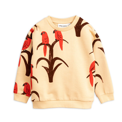 Parrot AOP Sweatshirt by Mini Rodini