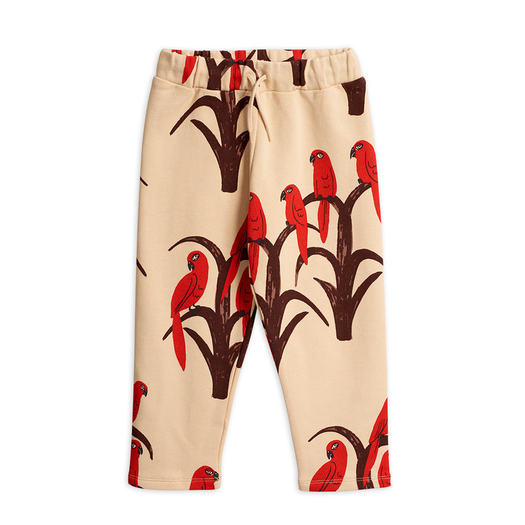 Parrot AOP Sweatpants by Mini Rodini