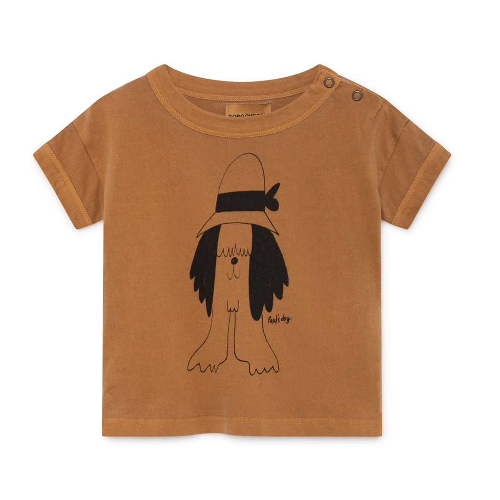 Baby Paul's Dog T-Shirt by Bobo Choses