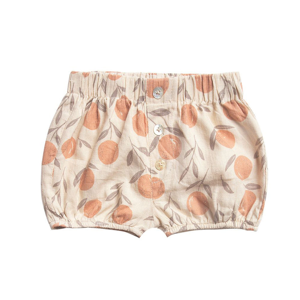 Peaches Button Short by Rylee and Cru