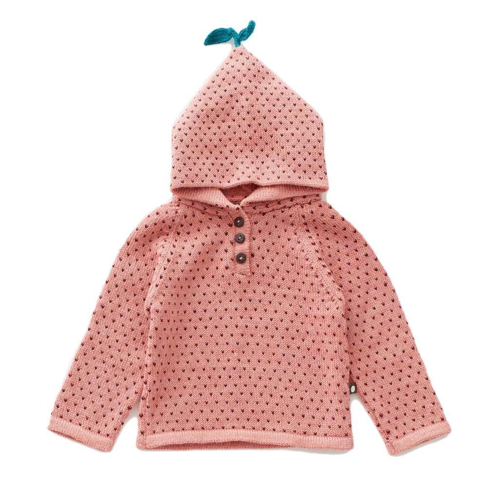 Dot Single Layer Hoodie by Oeuf