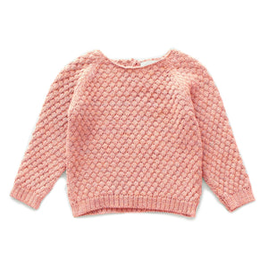 Load image into Gallery viewer, Peony Sheep Stitch Sweater by Oeuf