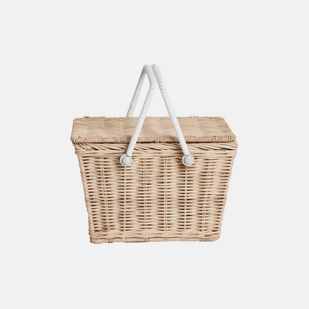 Load image into Gallery viewer, Olli Ella Piki Basket Straw