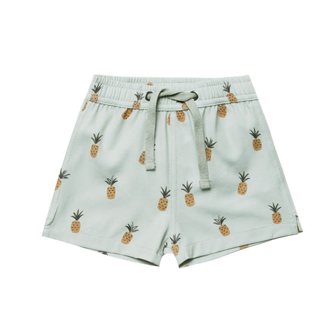 Pineapples Swim Trunk by Rylee and Cru