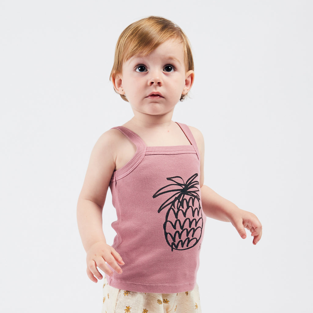 Pineapple Tank Top by Bobo Choses