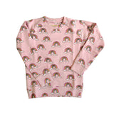 Pink Rainbow Sweatshirt by Hugo Loves Tiki