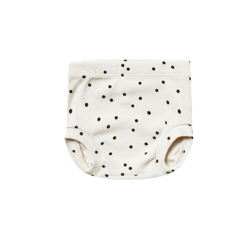 Ribbed Bloomers in Pebble Polka Dot by Quincy Mae