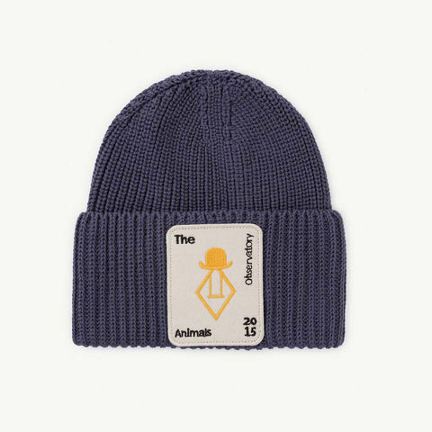 Pony Kids Hat in Navy Blue by The Animals Observatory