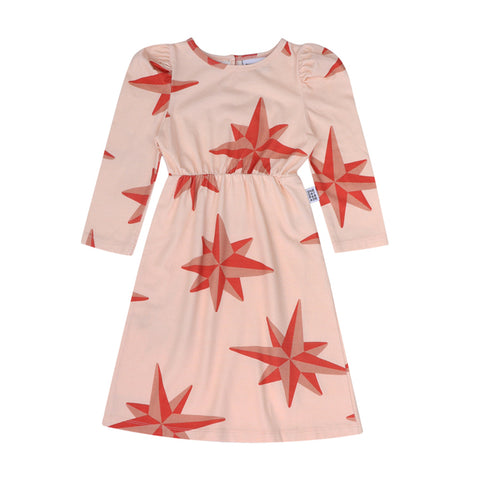 Compass Puffed Dress by One Day Parade