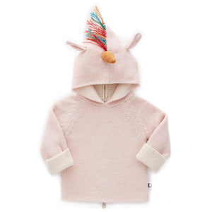 Load image into Gallery viewer, Rainbow Unicorn Reversible Hoodie by Oeuf
