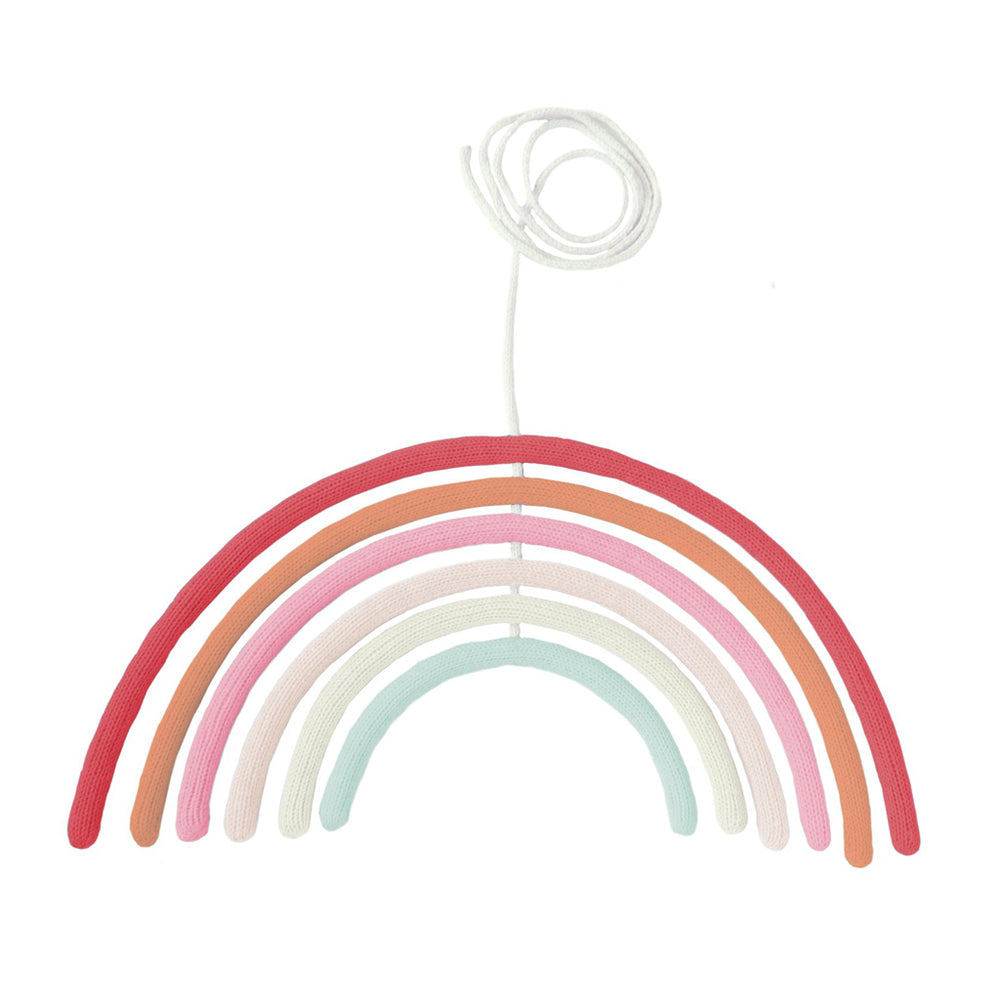 Rainbow Wall Hanging in Cherry Blossom by Blabla