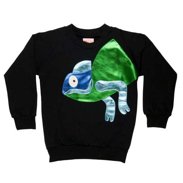 Rebel Reptile Sweatshirt by Wauw Capow by BangBang