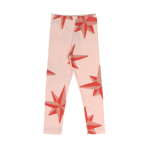 Red Compass Legging by One Day Parade