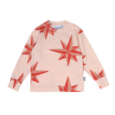 Red Compass Long Sleeve by One Day Parade