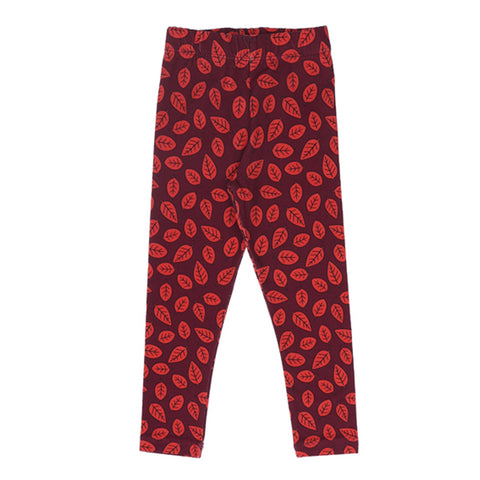 Red Leaves Legging by One Day Parade