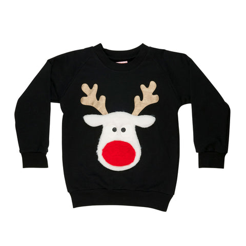 Red Nose Sweatshirt by Wauw Capow by BangBang