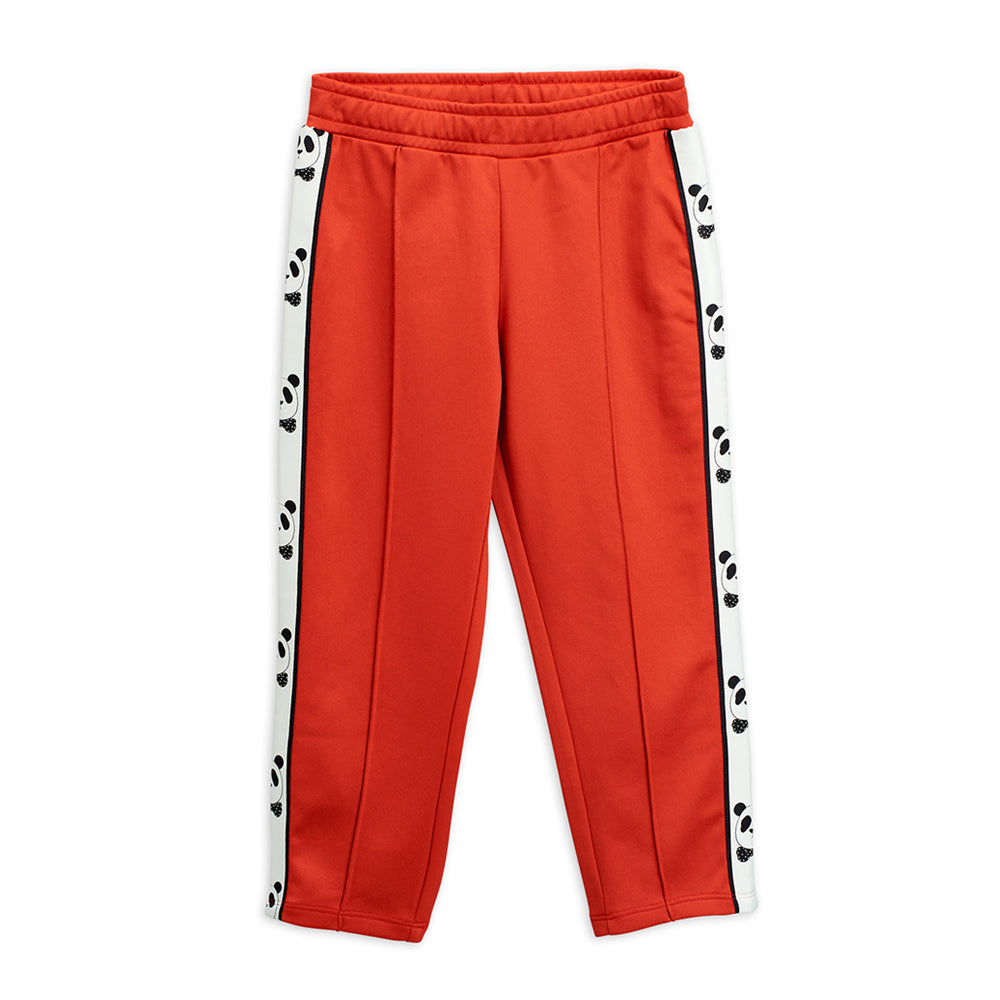 Red Panda Track Pants by Mini Rodini