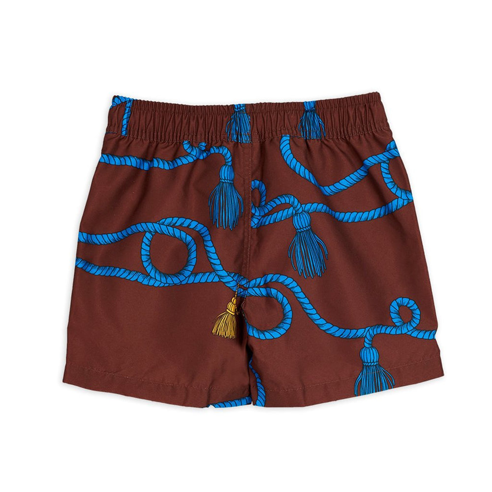 Rope Swimshorts by Mini Rodini