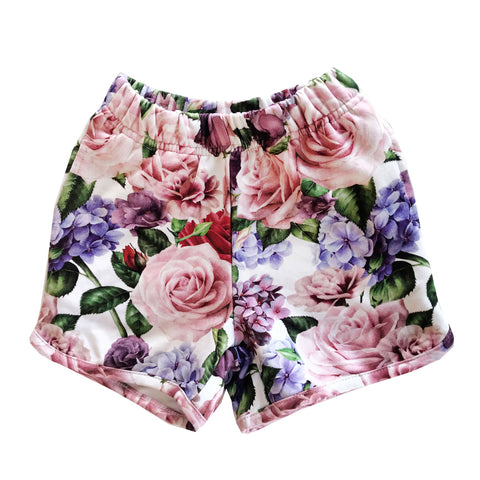 Roses Shorts by Romey Loves Lulu