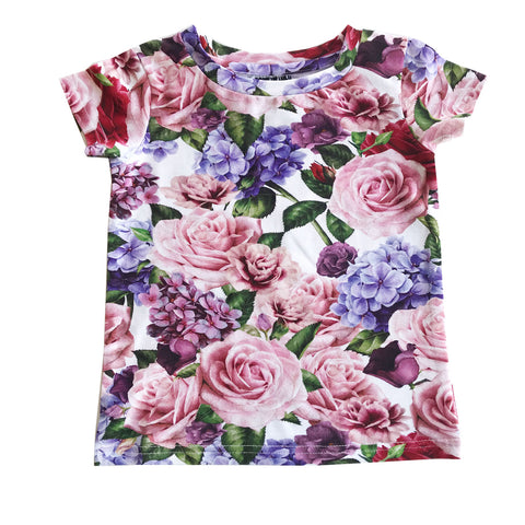 Roses Tee by Romey Loves Lulu
