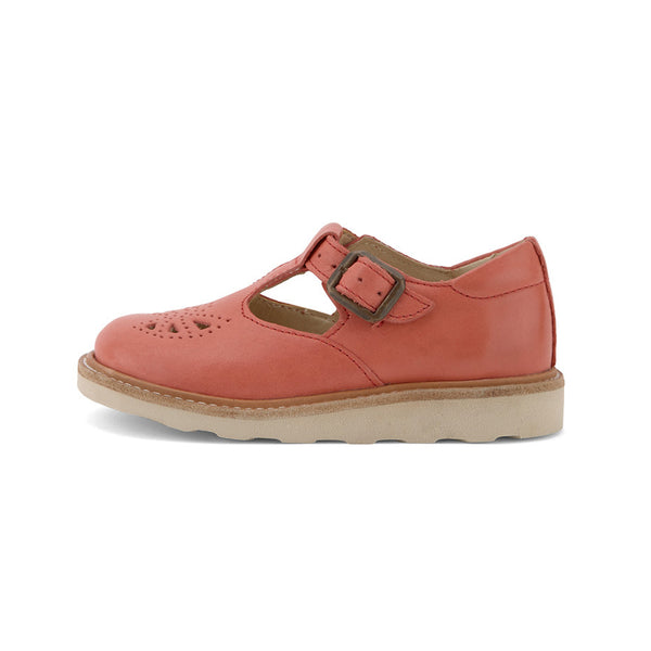 Rosie T-bar Coral by Young Soles